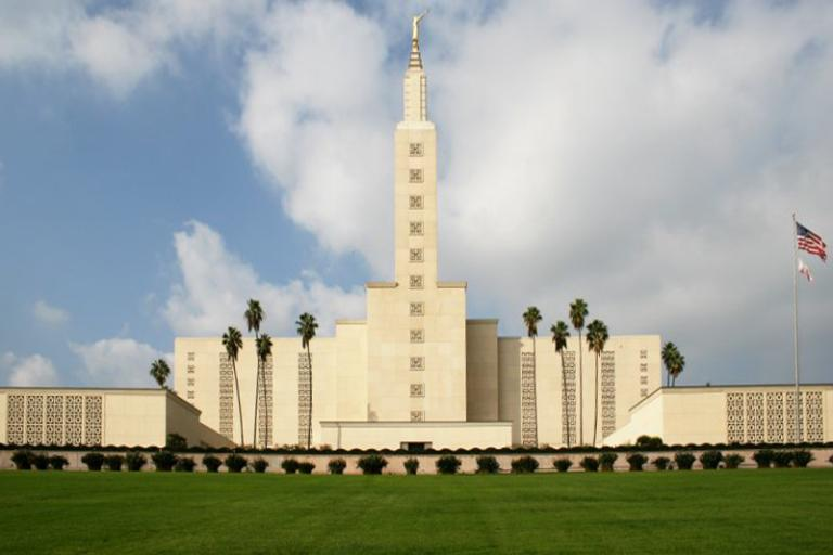 The first temple in California