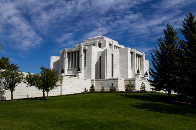 Canada's first temple