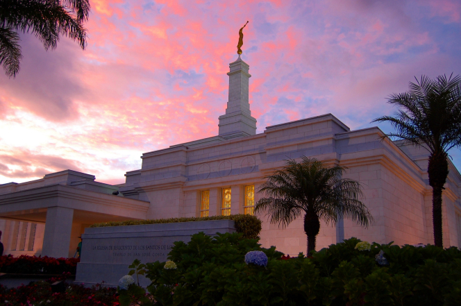 Costa Rica's first temple