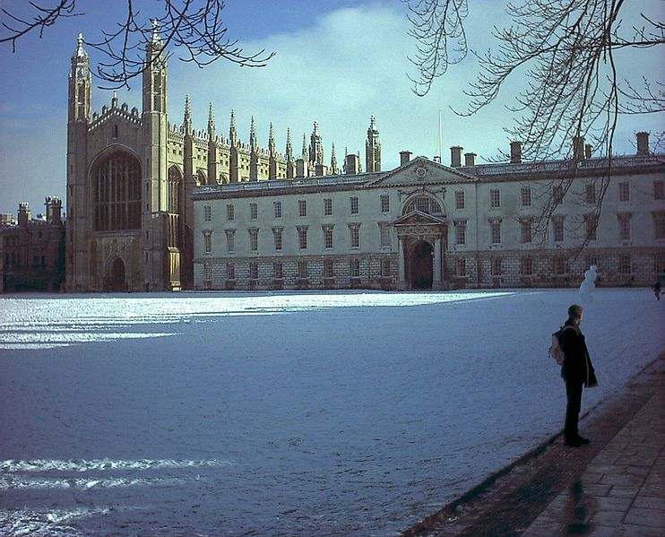 Winter at King's College