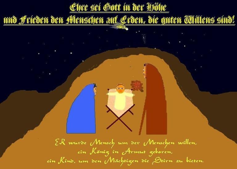 A German Christmas greeting