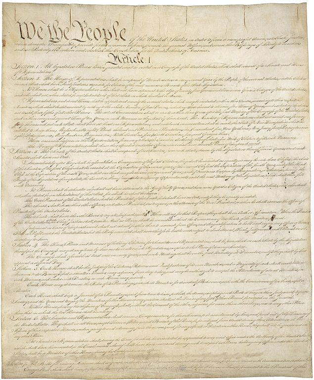 The US Constitution, not the boat