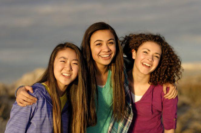 Girls' camp girls