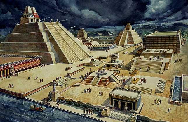 Diego Rivera's Tenochtitlan
