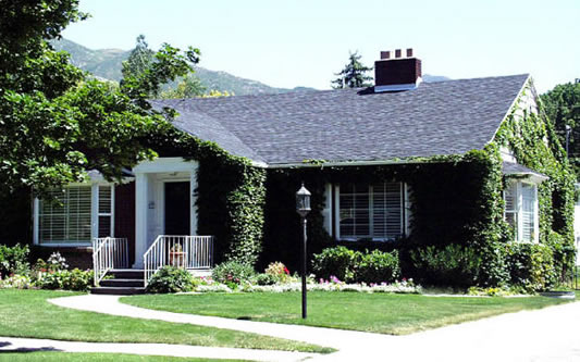The Kimball home in Salt Lake City