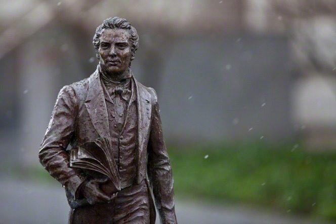 Joseph Smith statue at Temple Square