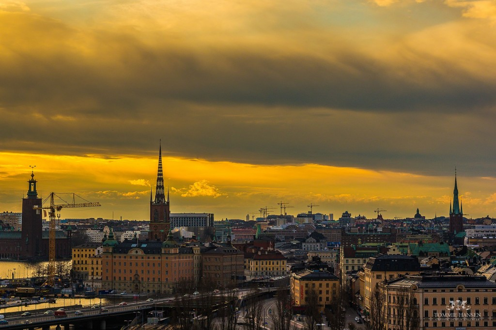 I like Stockholm. It's a pleasant city.