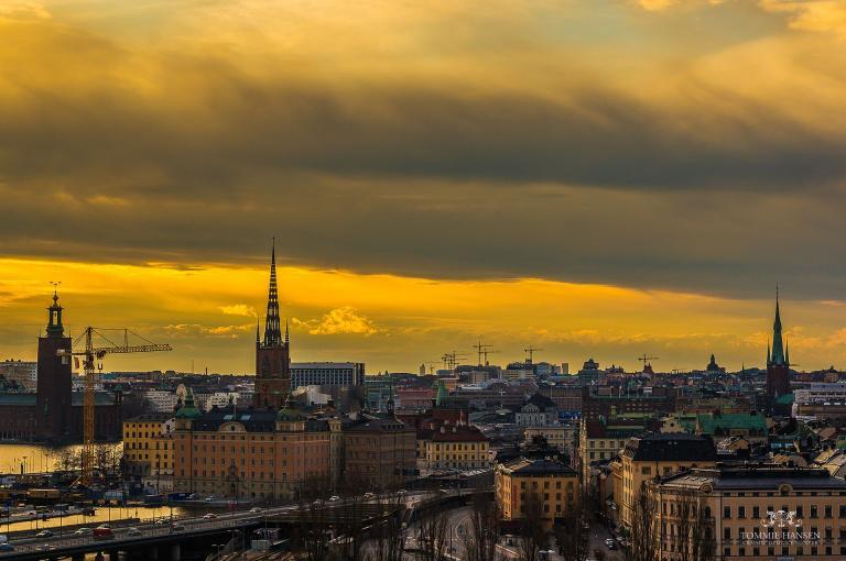 I like Stockholm. It's a pleasant city.