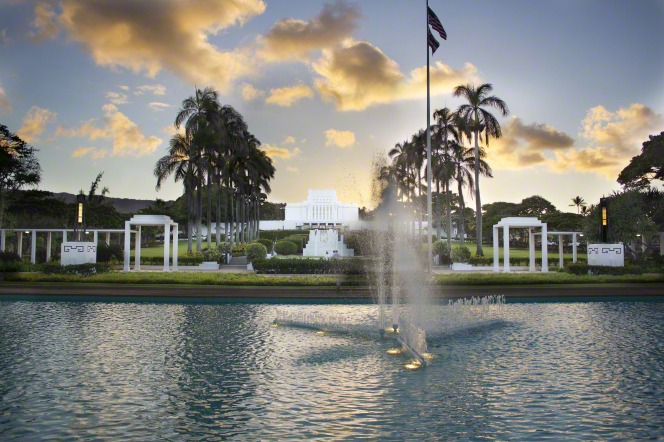 Hawaii's first LDS temple