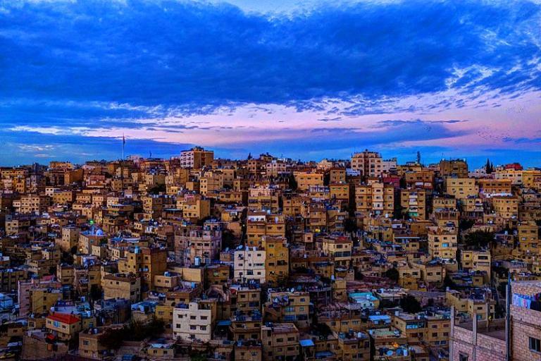 Nice view of Amman