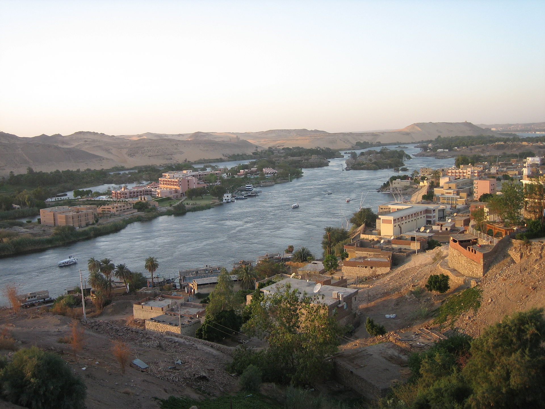A view of Syene or Aswan