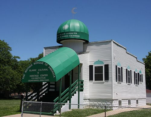 The Mother Mosque in Iowa