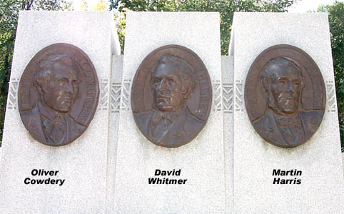 Fairbank's portrait sculptures of Three Witnesses