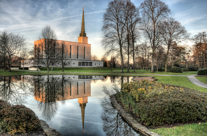 England's first temple