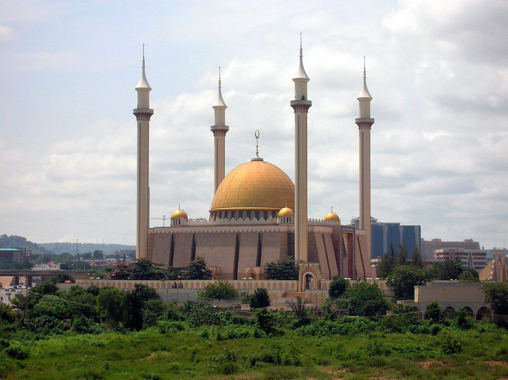A beautiful mosque in Nigeria