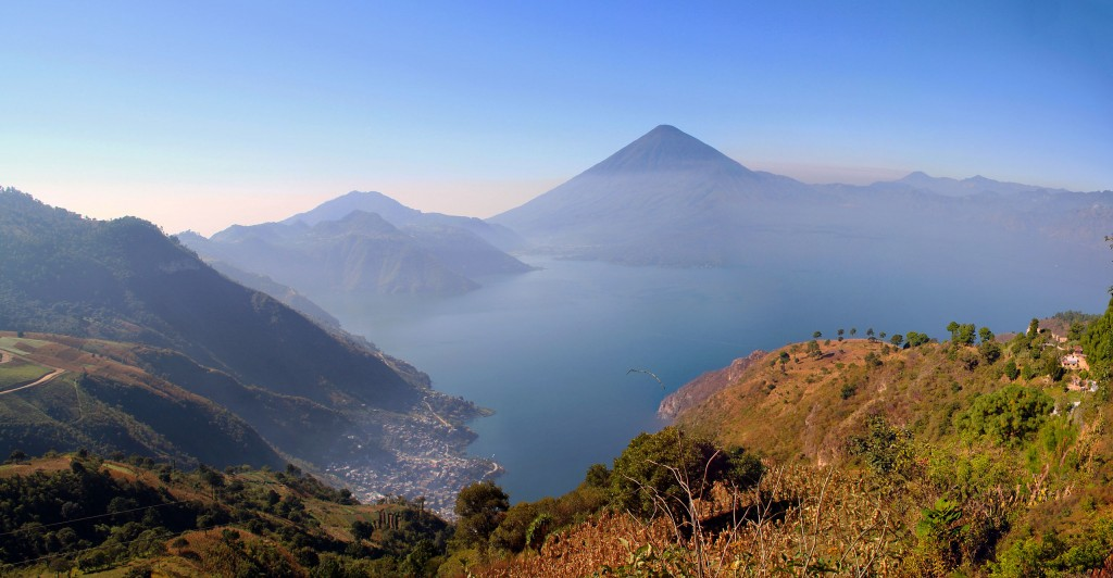 Mt. Atitlan and its lake