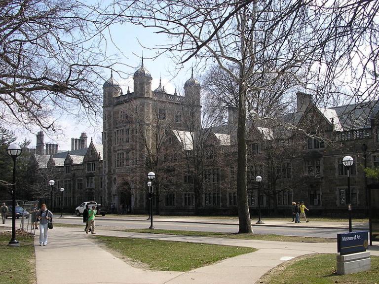 UMich campus