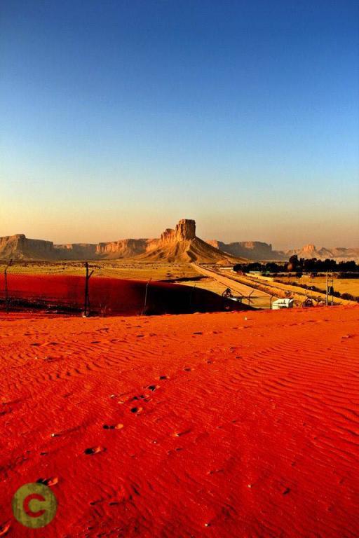 Red Desert near Riyadh
