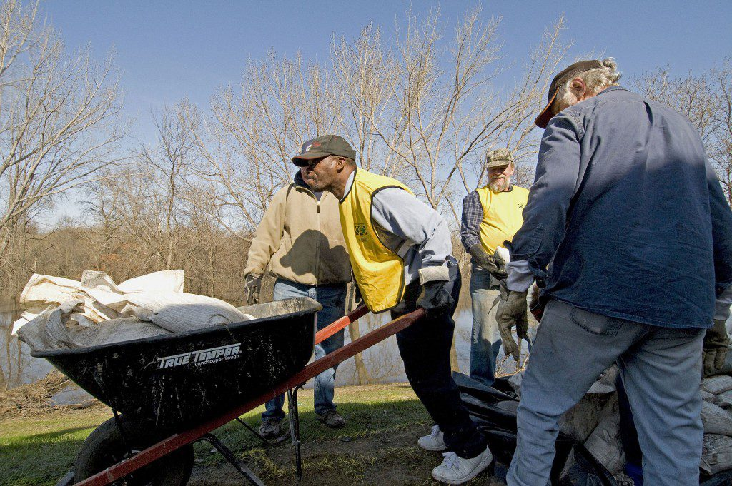 Mormon Helping Hands at work