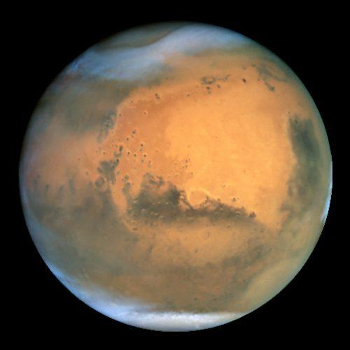 A Hubble Mars photo