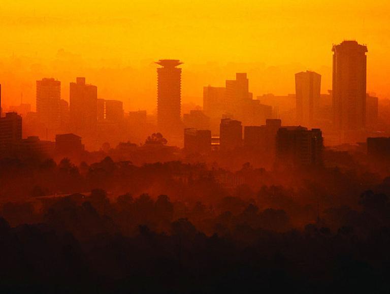 Nairobi skyline photo