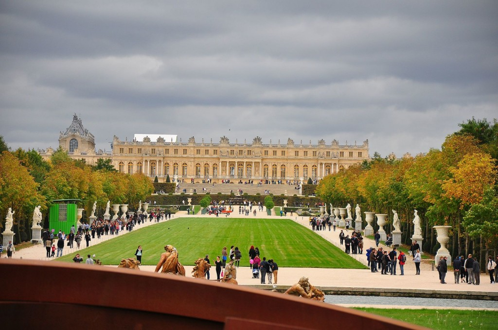 Versailles, with non-royals