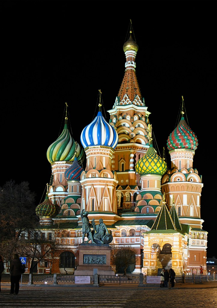 St. Basil's = St. Vasily Cathedral