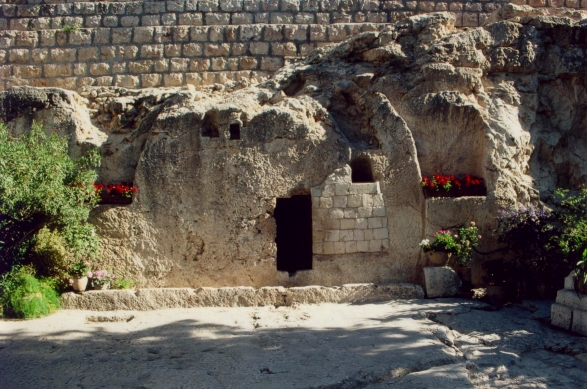 A photo of the Garden tomb