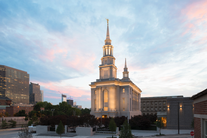The new temple in Philadelphia