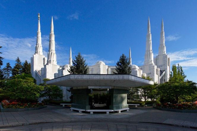 Oregon's first LDS temple