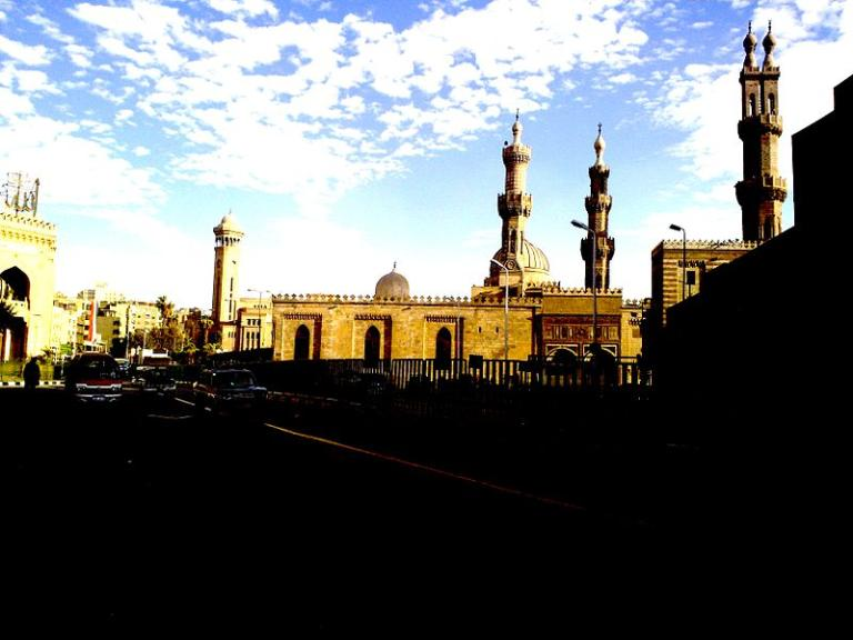Al-Azhar, in the evening