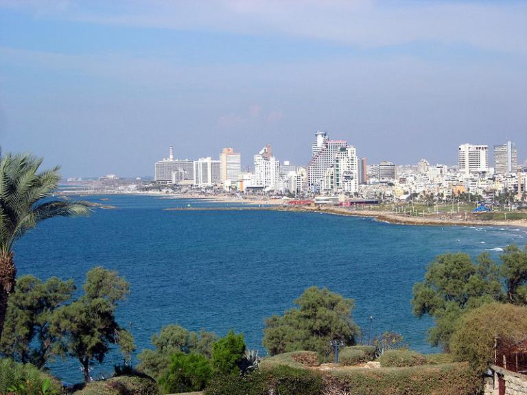 Jaffa, with Tel Aviv
