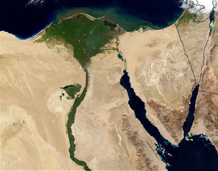 NASA Egypt and Sinai
