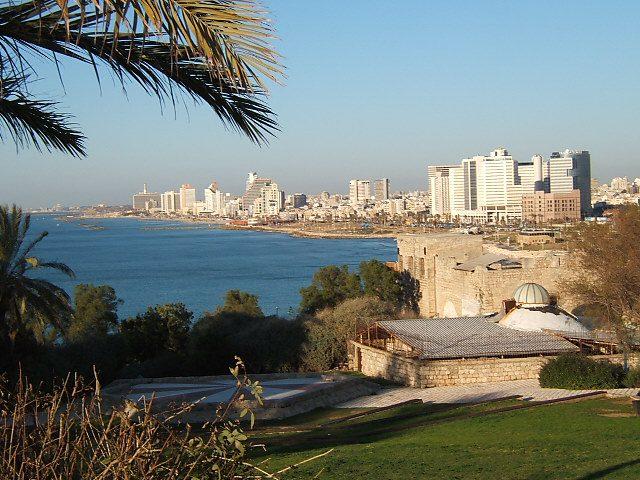 Looking at Tel Aviv from Joppa