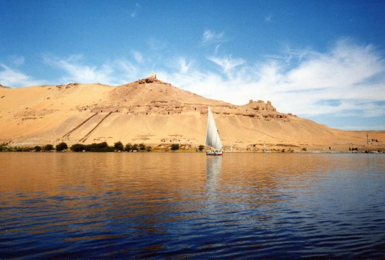 Felucca near Aswan