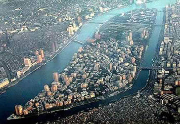 Zamalek from the air