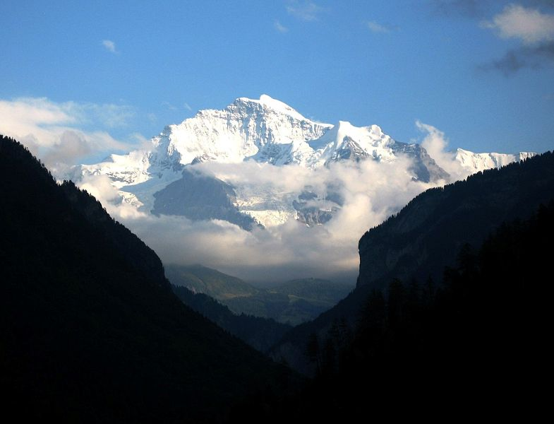 The Jungfrau, in its glory.