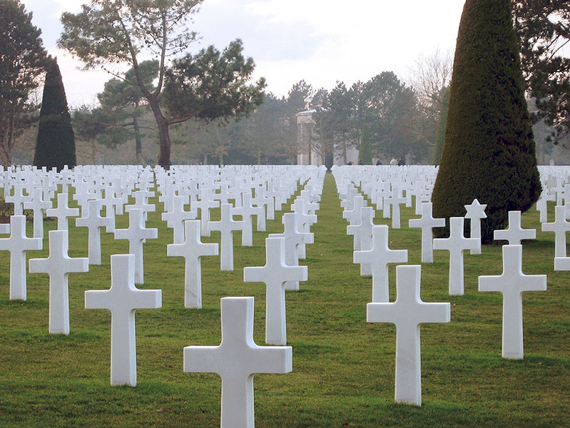 Normandy U.S. cemetery