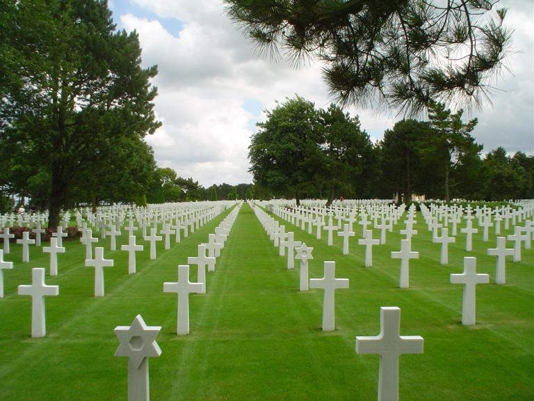Normandy US cemetery