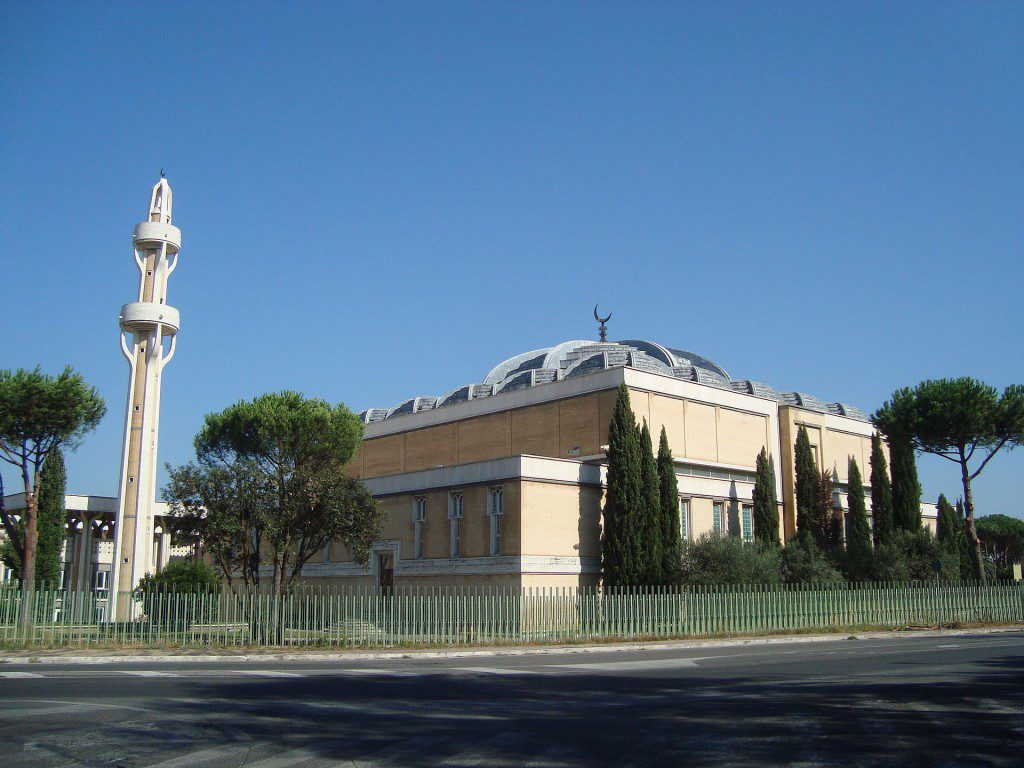 Rome's largest mosque