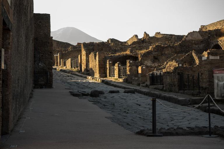 Vesuvius with Pompeii