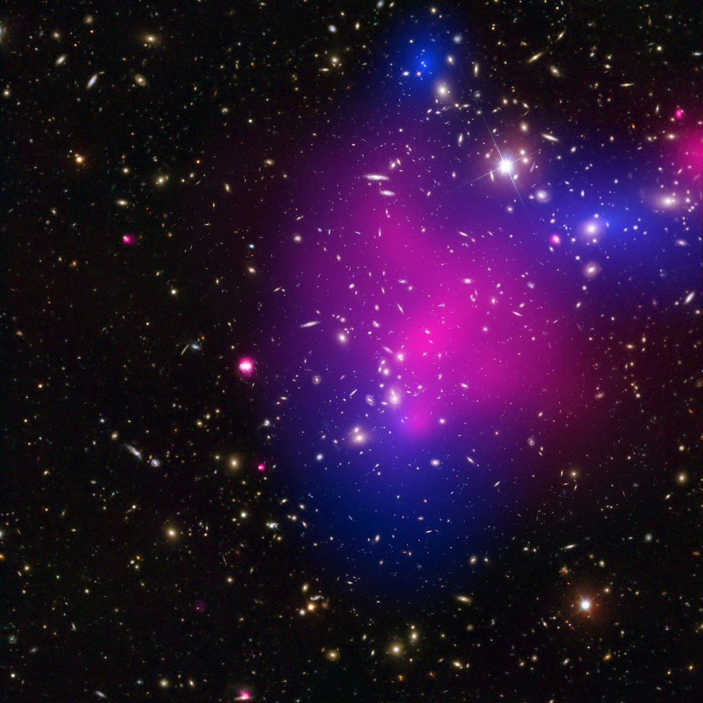 Chandra and Hubble, together