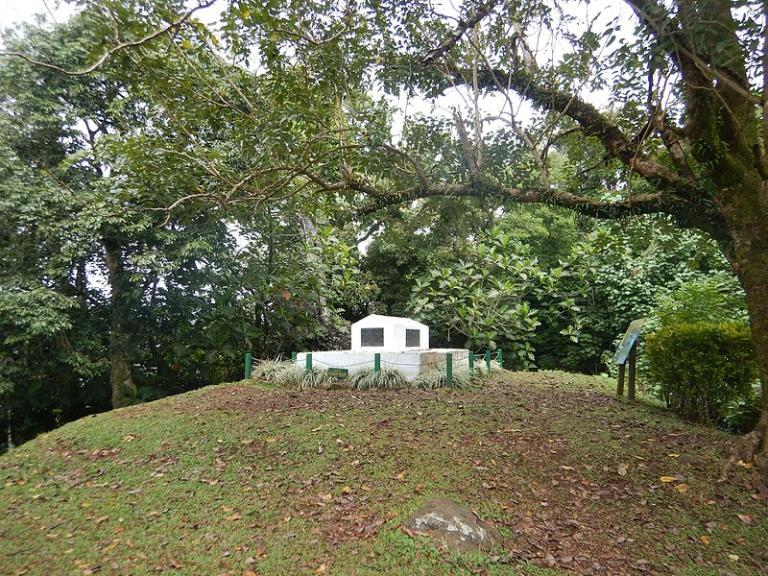 Stevenson's tomb