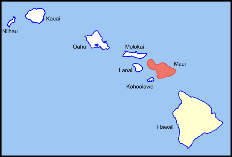 Maui and the rest of the Hawaii archipelago
