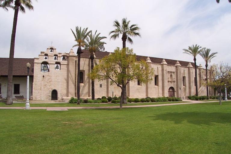 The San Gabriel Mission in California