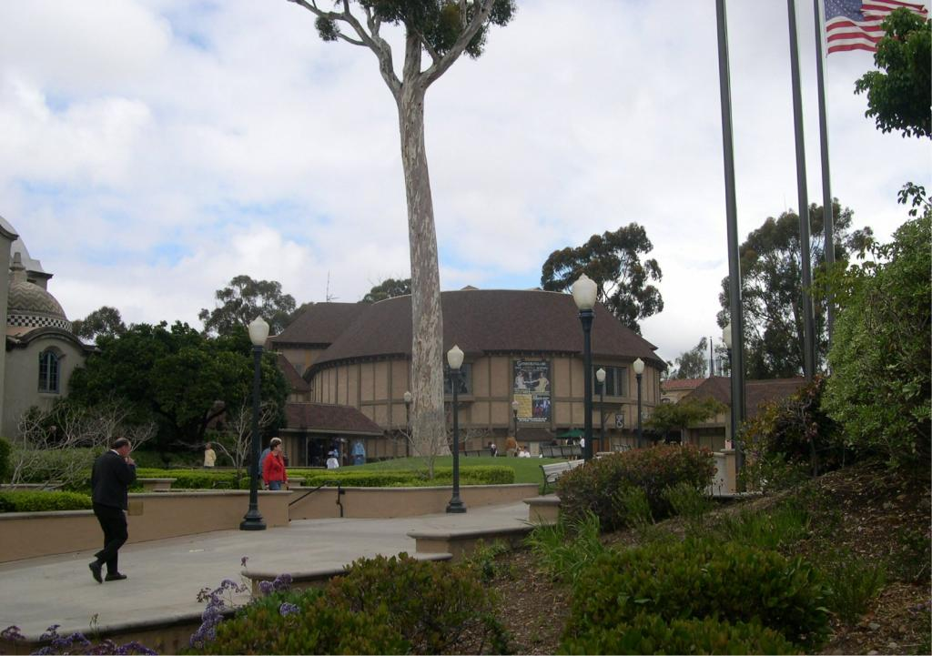 The Old Globe, in Balboa Park