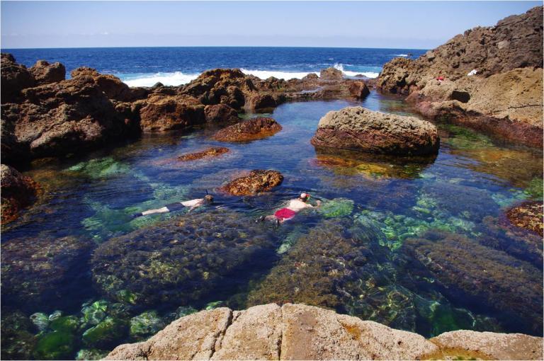 A warm tidal pool
