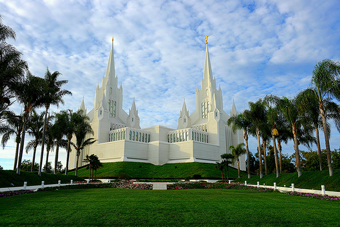 California's temple no. 3