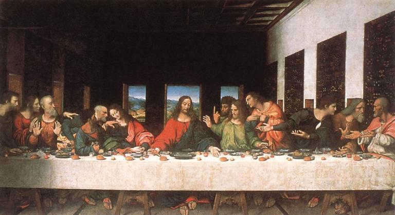 """Da Vinci's most famous """"fresco"""""""