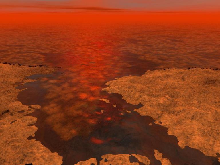 On Titan